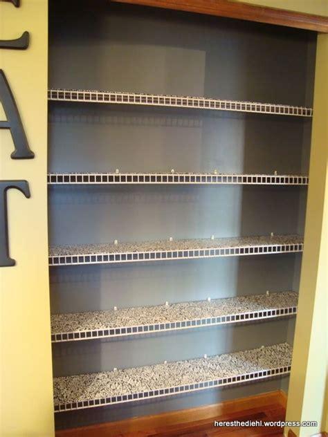 pantry makeover diy shelf liners  wire shelves