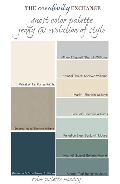 has used some of the best colors out there like palladian blue aegean teal and