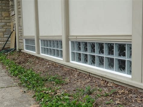 replacing single pane basement bathroom church windows