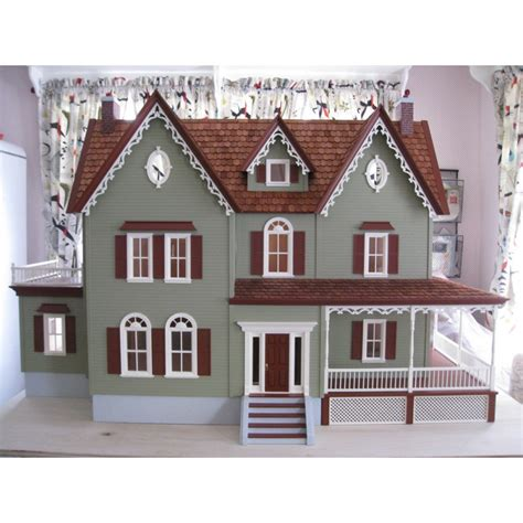 doll house kits north park mansion dollhouse kit dollhouses dollhouse