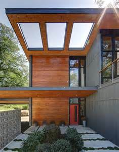 Seattle Awnings Half Century Rancher Renovated Into Large Modern 2 Story