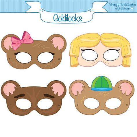 printable goldilocks mask goldilocks and the three bears goldilocks costume goldie