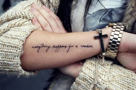 tattoo name curse 30 everything happens for a reason tattoo designs