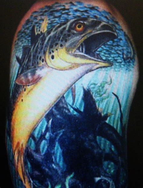 steelhead tattoo trout pedro dorsey portland or swittersb