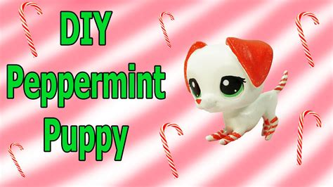 peppermint and dogs custom lps diy peppermint puppy inspired littlest pet shop blind bag