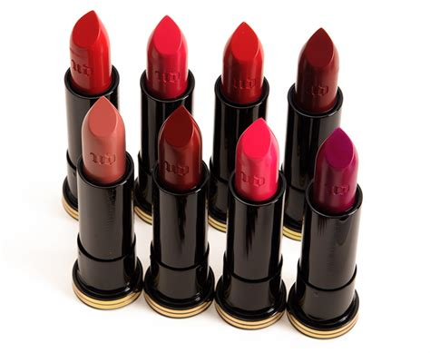 what are the colors of lipstick that gwen stefani wears on the voice urban decay x gwen stefani firebird 714 lipsticks