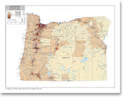 oregon population density map stockmapagency population density map of oregon with