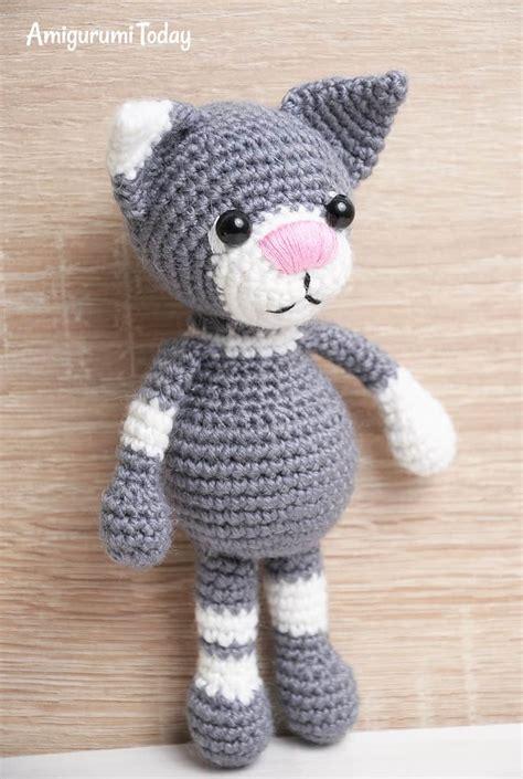 pattern amigurumi cat toby the cat amigurumi pattern amigurumi today