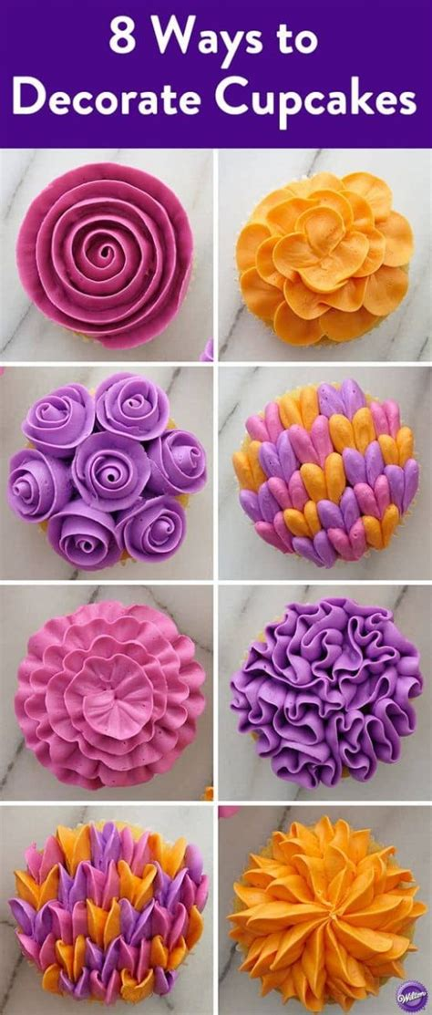 Ways To Decorate Cupcakes With Icing cupcake frosting guide all the best tips and tricks
