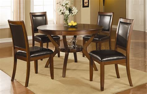 Dinette Tables Nelms Dining Set 5pc 102171 In Brown W Options