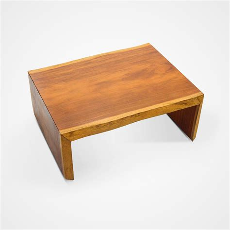 Solid Coffee Table Small Live Edge Solid Vinhatico Wood Coffee Table Rotsen Furniture