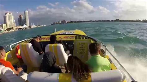 thriller boat ride miami thriller speed boat miami youtube
