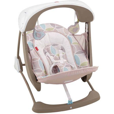 fisher price infant swing fisher price deluxe take along swing and seat walmart
