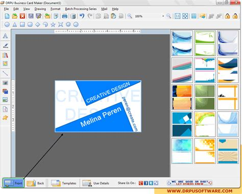 template maker software business cards maker business card maker free