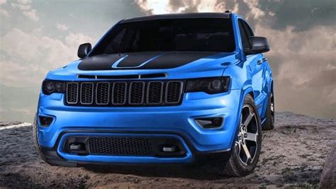 2019 Grand Srt Hellcat by 2019 Jeep Grand Srt Hellcat Exterior And Interior