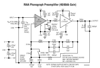 sjoestroem audio qsxm  extreme phono riaa amplifier