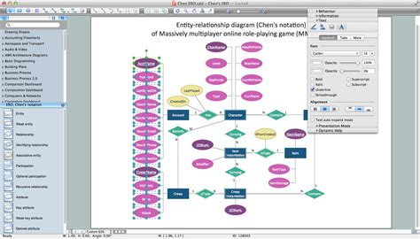 er database diagram tool how to draw er diagrams professional erd drawing