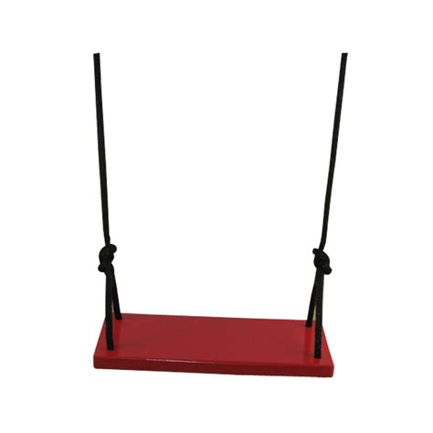 red swing red classic kids wood tree swing free shipping on tree