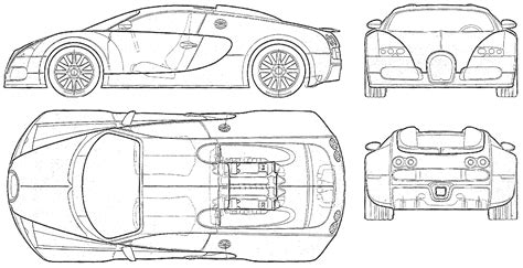 car plans bugatti car blueprints die autozeichnungen les plans