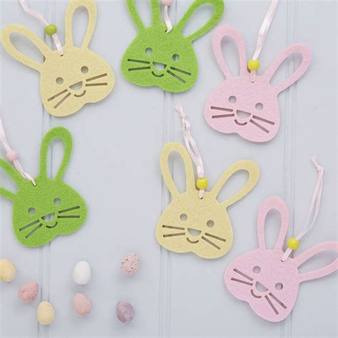 Easter Bunny Decor by Six Bunny Easter Decorations By The Chicken And The Egg