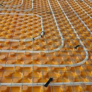 Hydronic or electric radiant floor heating? Product in