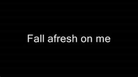 Holy Spirit Fall Afresh On Me Luther Barnes lord send the pour out your spirit fall fresh on me