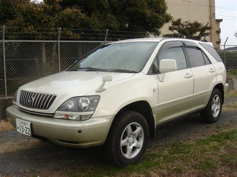 harrier lexus model toyota harrier lexus rx 300 1999 used for sale