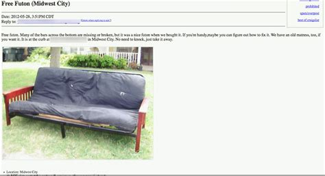 craigs list futon craigs list futon bm furnititure