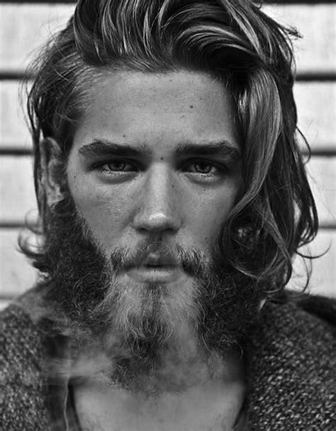 coupe de cheveux homme barbe 1001 id 233 es coiffure homme cheveux longs crini 232 re dompt 233 e ou pas