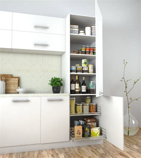 Kitchen Cabinet Storage Options how to store groceries in style in a spacious kitchen