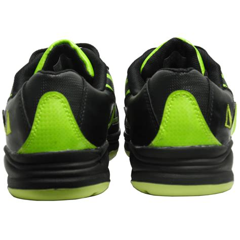 s path sport bowling shoe black lime green pyramid