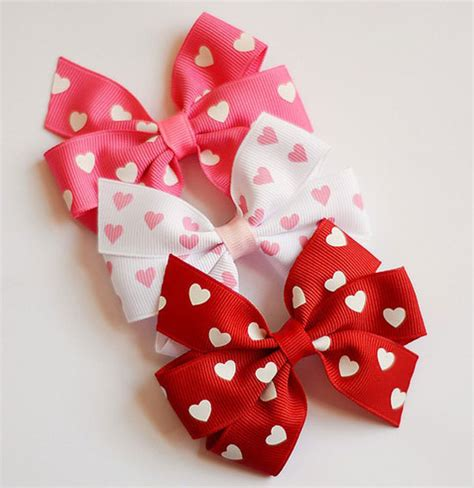 valentines hair bows 15 best s day hair bows for