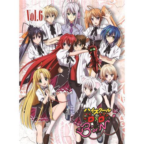 high school dxd manga review of volume 1 high school dxd born vol 6 blu ray cd