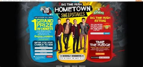 Www Nick Com Sweepstakes - www nick com chef big time rush hometown sweepstakes