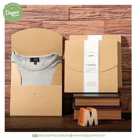 inspirasi packaging kaos  menarik dapur print
