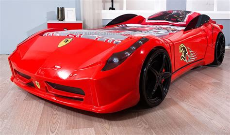 sports car bed turn your kid into a future sportscar addict with these