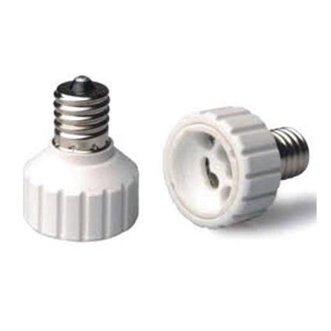 intermediate light bulb adapter intermediate e17 to gu10 socket adapter industrial grade
