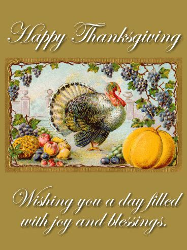joyful holiday thanksgiving card birthday greeting cards  davia