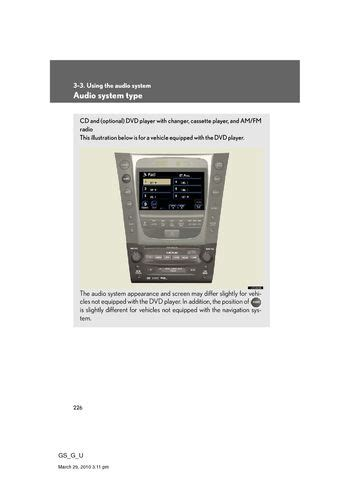 vehicle repair manual 2008 lexus gs parking system download 2008 lexus gs350 using the audio system pdf manual 65 pages
