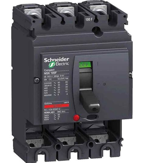 Mccb 100a Asli Schneider Elektrik buy schneider lv510307 thermal magnetic trip 3 pole molded circuit breaker mccb best