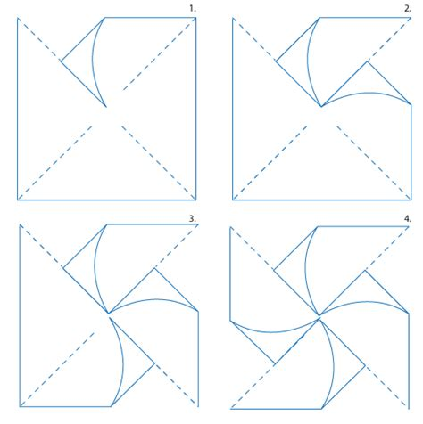 Printable Pinwheel Instructions | early play templates make a pinwheel printables and tutorials