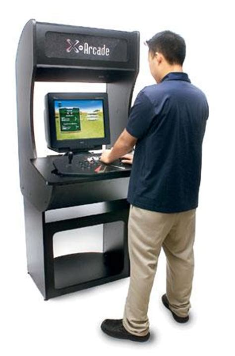 X Arcade Machine Cabinet Review by Living Room Arcade Review Rating Pcmag