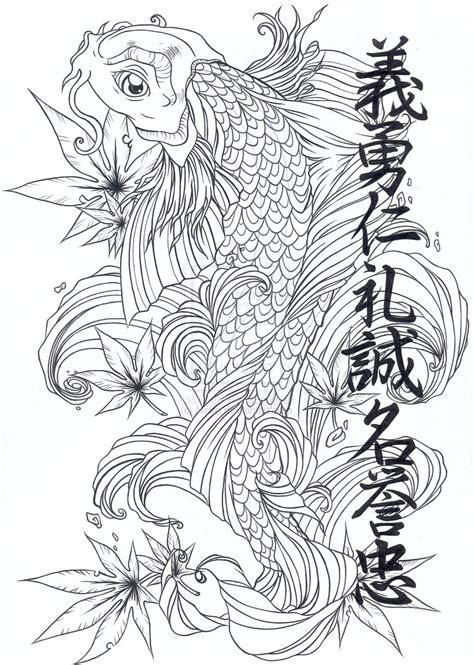 japanese koi dragon tattoo designs japanese tattoos koi design