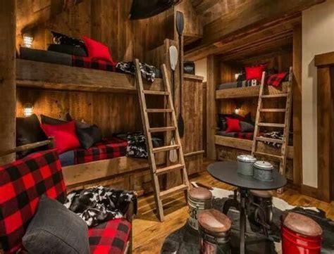 Log Cabin Design Boys Bedroom Dream Home Pinterest Cabin Logs And