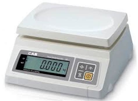 Timbangan Digital Cas Sw 1a Single Display Electronic Scale 30kg Sw2 30 Cas