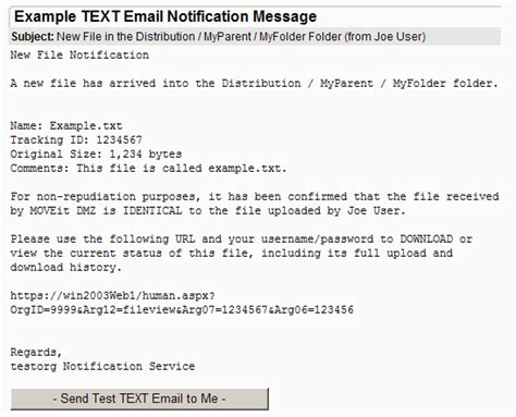 email notification templates notification custom