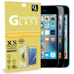 tempered glass screen protector  apple iphone  se
