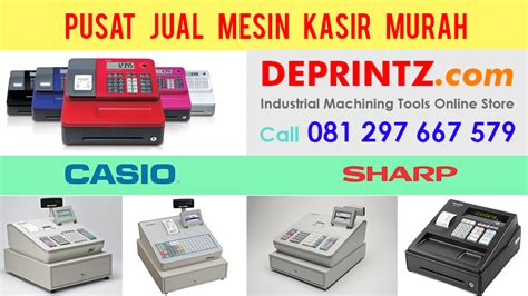 Sharp Xe A207 Mesin Kasir Register Barang Promo deprintz