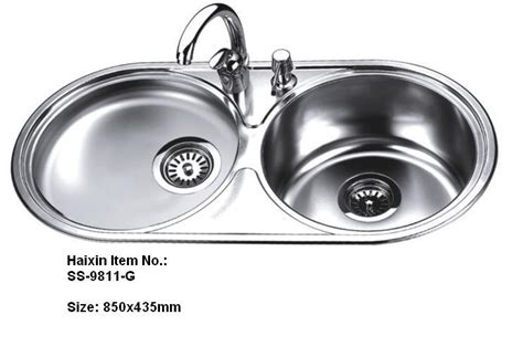 round stainless steel kitchen sink stainless steel double bowl kitchen sink without faucet