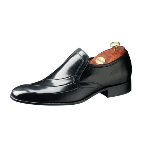 barker mens shoes slip on leather from mozimo